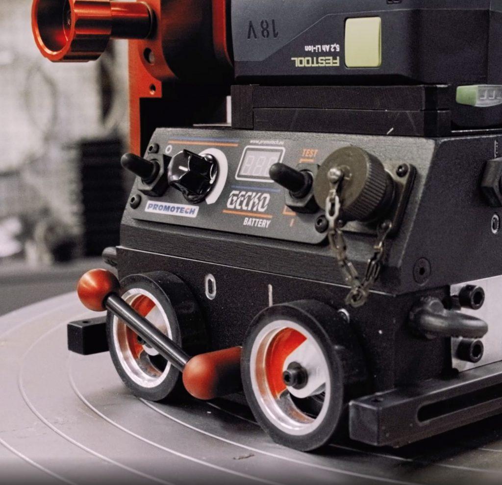 Kompakti Gecko Battery pienahitsauslaite apuna työtehtävien mekanisoinnissa.